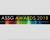 ASSG AWARDS 2018 – Non-Feature Nominations