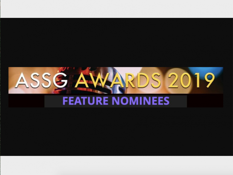 ASSG AWARDS 2019 – Feature Nominations