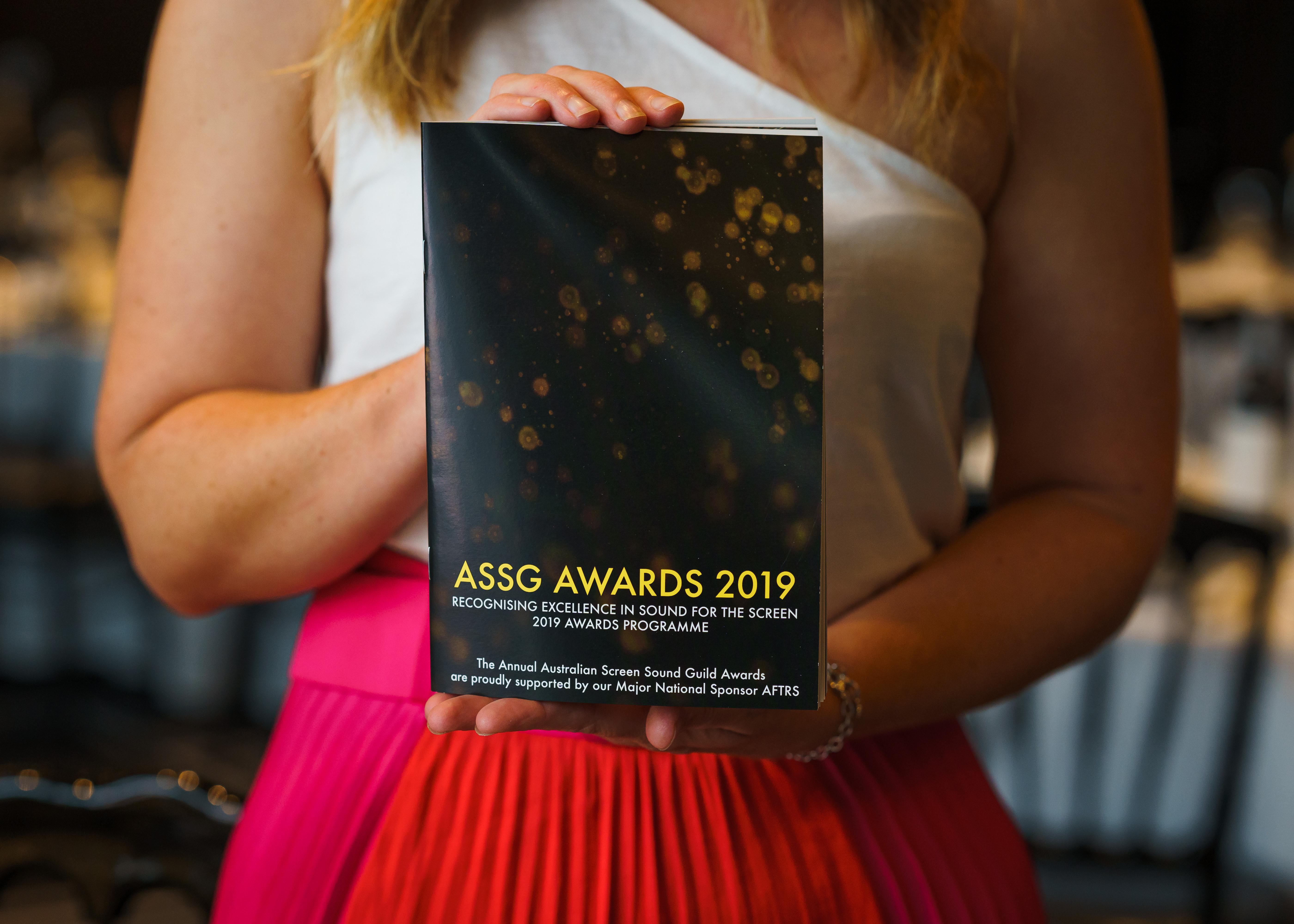 2019 ASSG Awards Winners