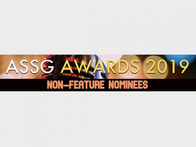 ASSG AWARDS 2019 – Non-Feature Nominations